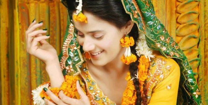 Mehndi Function Dresses 2015 : Mehndi raat post