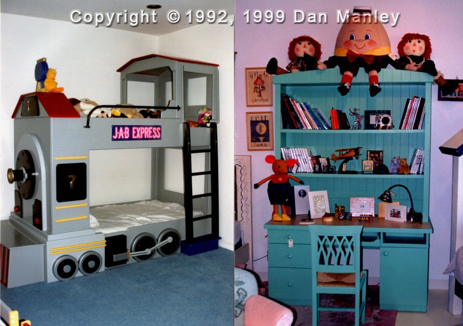 Love The Train Bunk Bed Idea Need To Find The Plans For Something