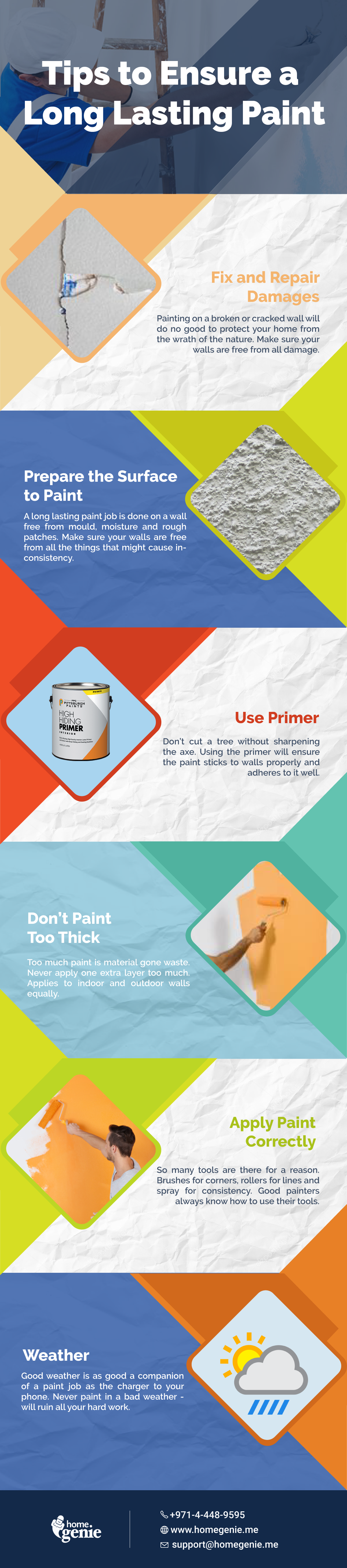 Some useful tips to ensure a long lasting paint that are ...