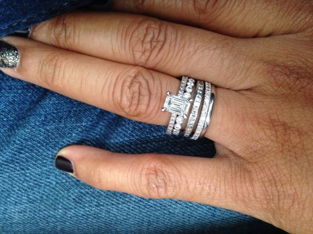 my ring which photo bandstack stack topic engagement band wedding rings with