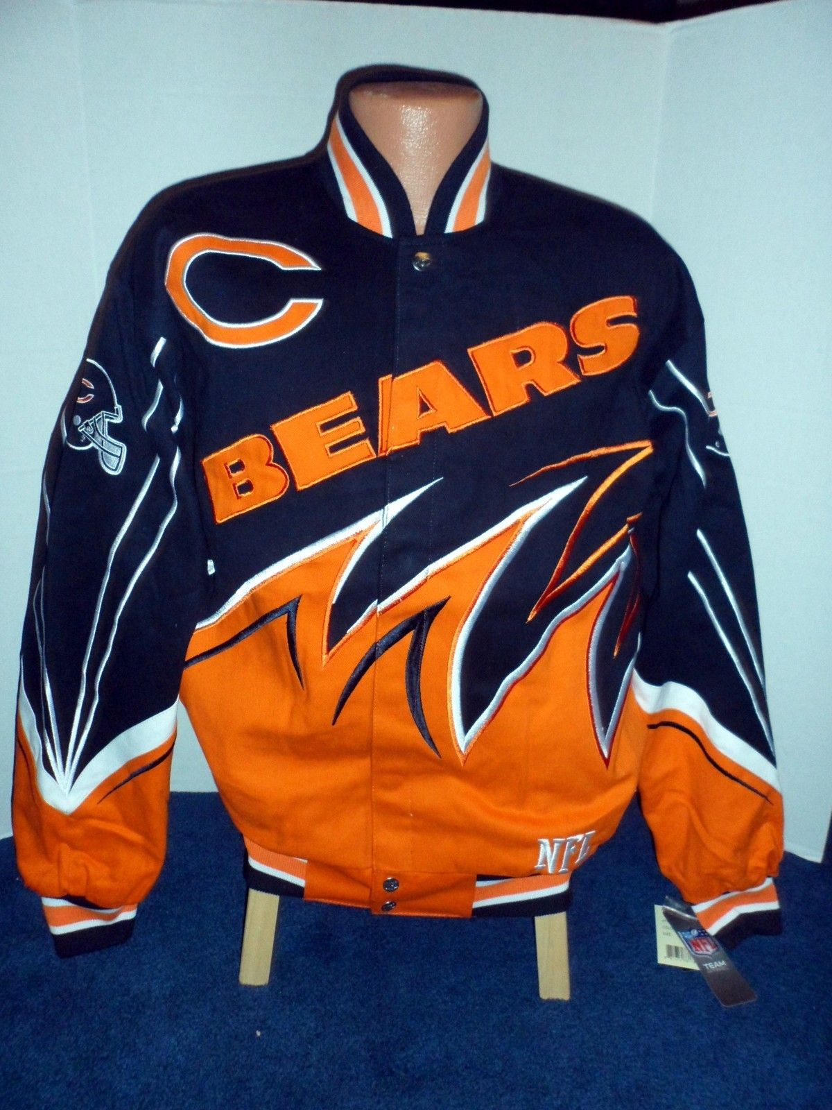 Chicago Bears NFL Twill Slash Jacket Chicago bears