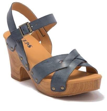 KORKS Bagley Platform Heeled Sandal