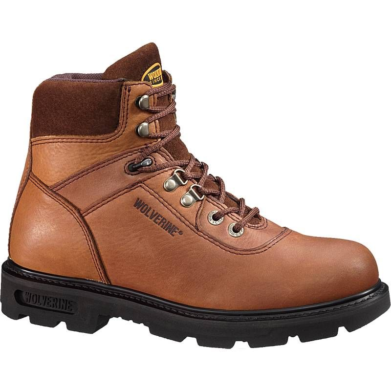 Work Boot - Brown