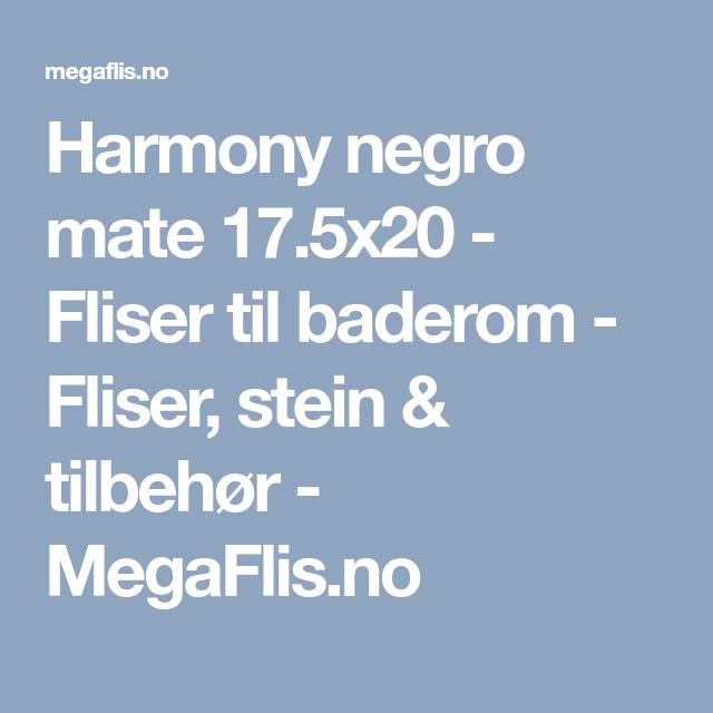 Photo of Harmony negro mate 17.5×20 – Baderomsfliser – Fliser, steiner og tilbehør – M …