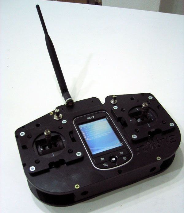 Bidirectional rc transmitter with arm xbee pro
