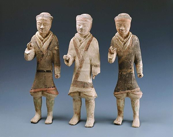 Foot soldiers Han dynasty