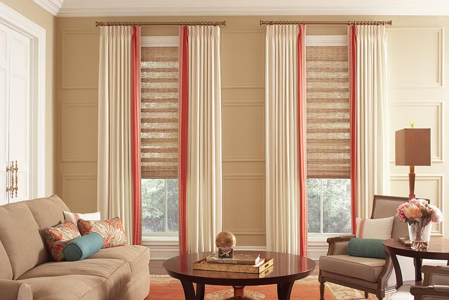 Woven Wood Shades   Lafayette Interior Fashions    Explore The Exotic  Beauty Of Hand Woven