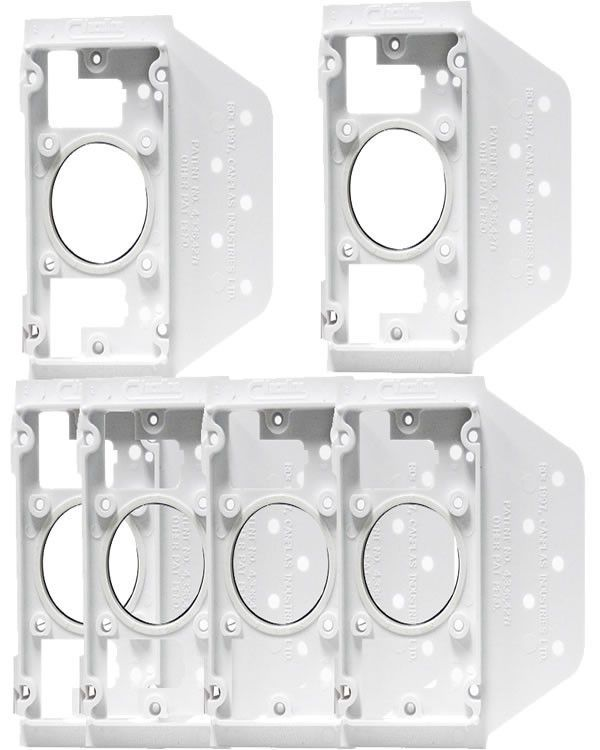 Central Vacuum Wall Plate Prepossessing Central Vacuum Wall Mounting Bracket For Inlet Plate  6 Pack Design Ideas