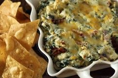 Artichoke and Bacon Dip