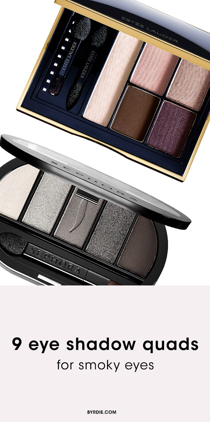 The best eye shadow quads and palettes for no-fail smoky eyes