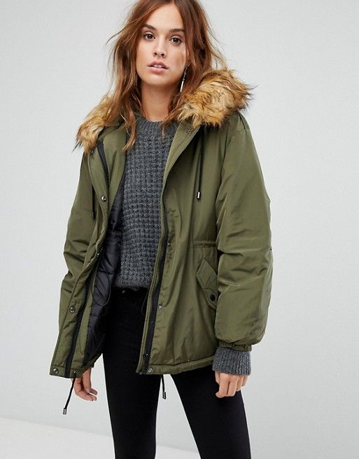 Warehouse parka mantel