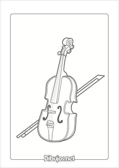 Instrumentos Musicales De Cuerda Para Colorear Instrumentos De