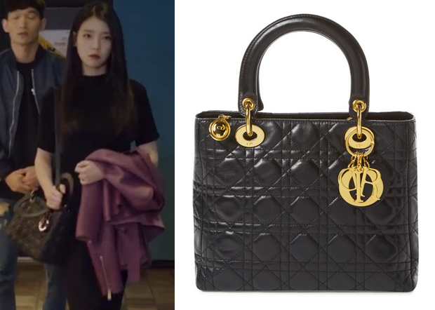 Iu 아이유 In The Producers Episode 2 Dior Black Lambskin Lady Bag