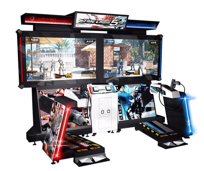 borne arcade time crisis 4