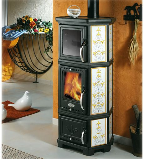 Wonderful Sideros Stubella Cerasarda Ceramic Stove Oven · Wood StovesWood Burning ... Photo