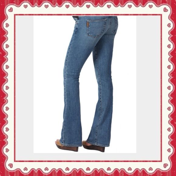 Paige Premium Denim Laurel Canyon Distressed Jean 31' Inseam Paige Jeans Jeans Flare & Wide Leg
