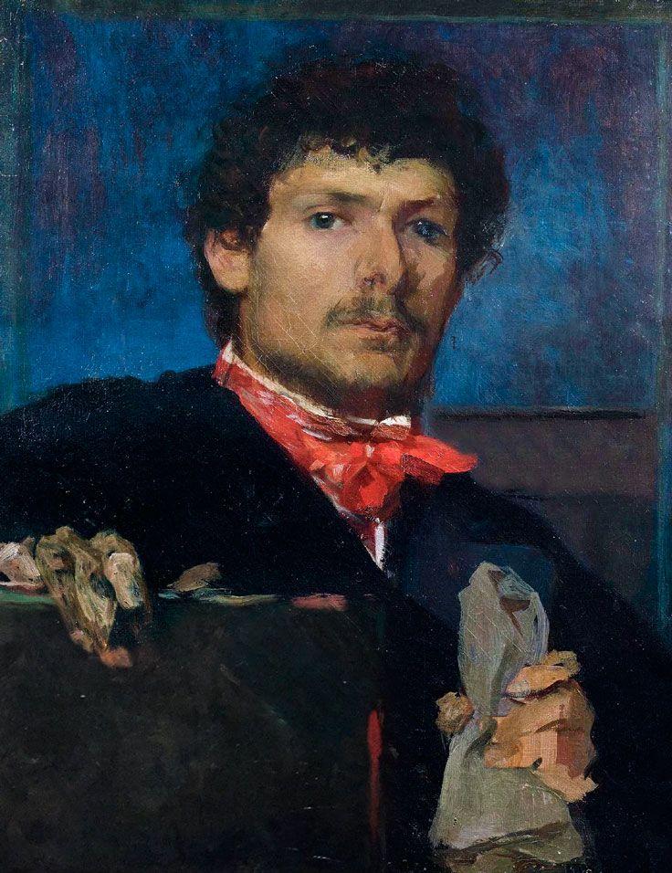 Desvallières (18611950) • Autoportrait bleu au