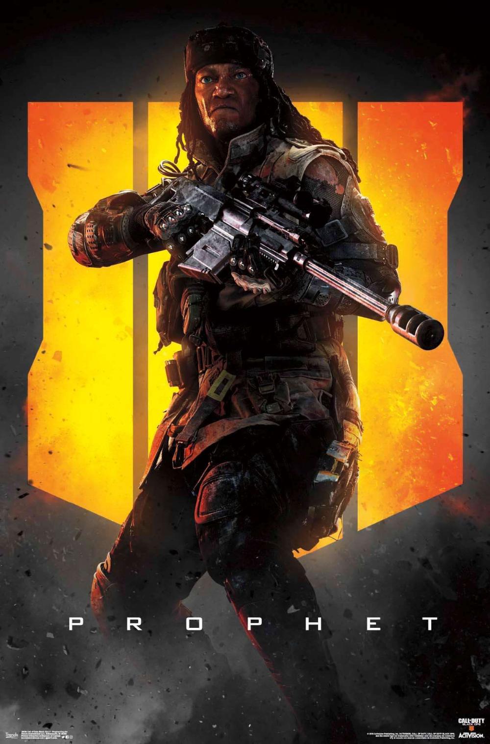 Call Of Duty Black Ops 4 Prophet Key Art Black Ops 4 Call Of