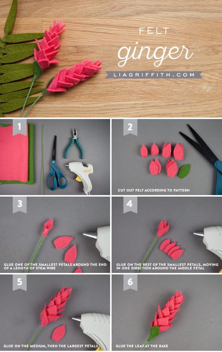 Spice Up Your Felt Bouquet with This EasyPeasy Felt