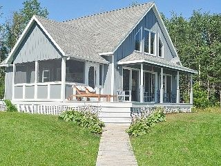 Secluded cottage on private beach Vacation Rental in Prince Edward