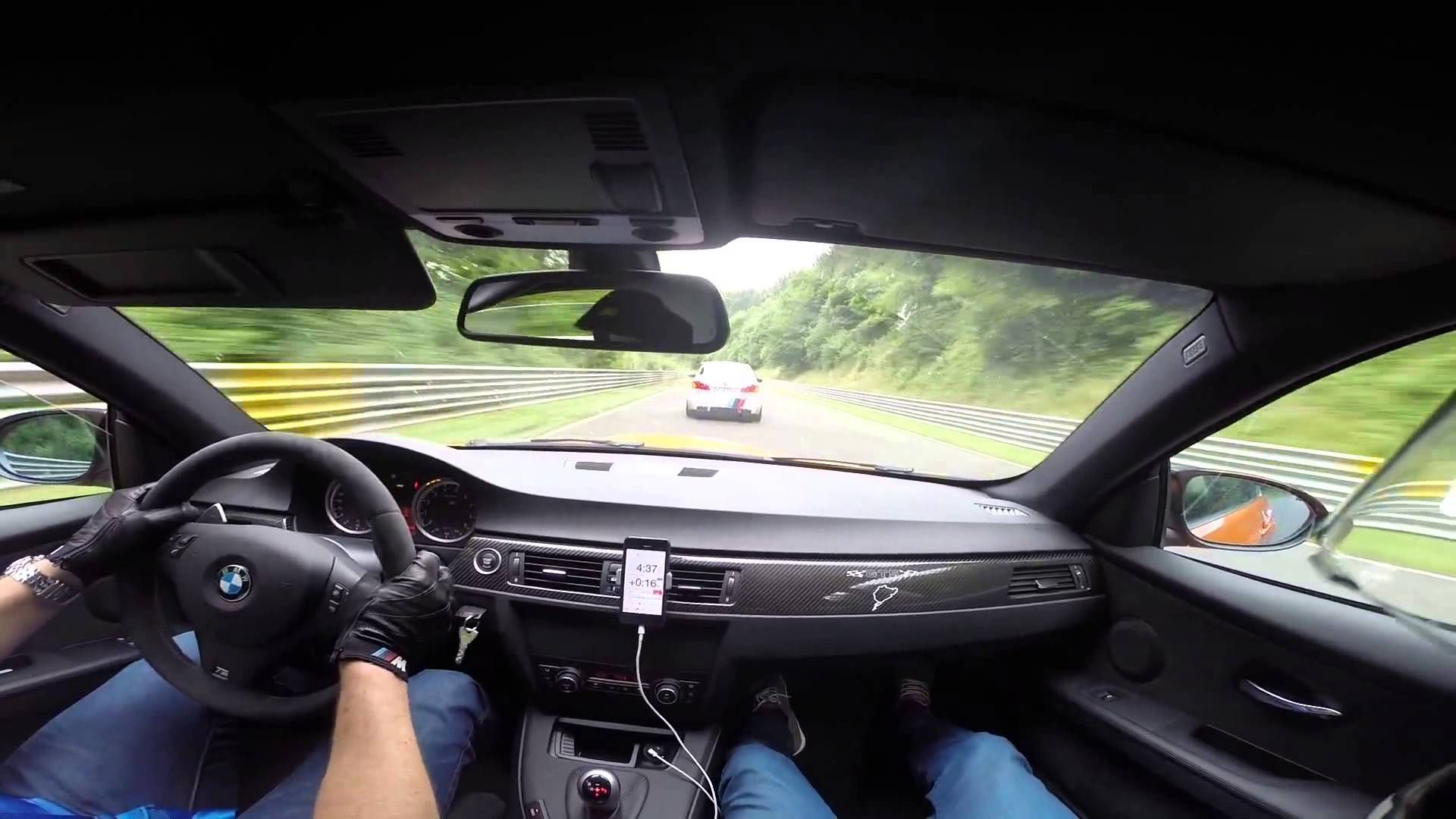 BMW M3 GTS VS BMW M5 F10 Ring Taxi Nürburgring Nordschleife with