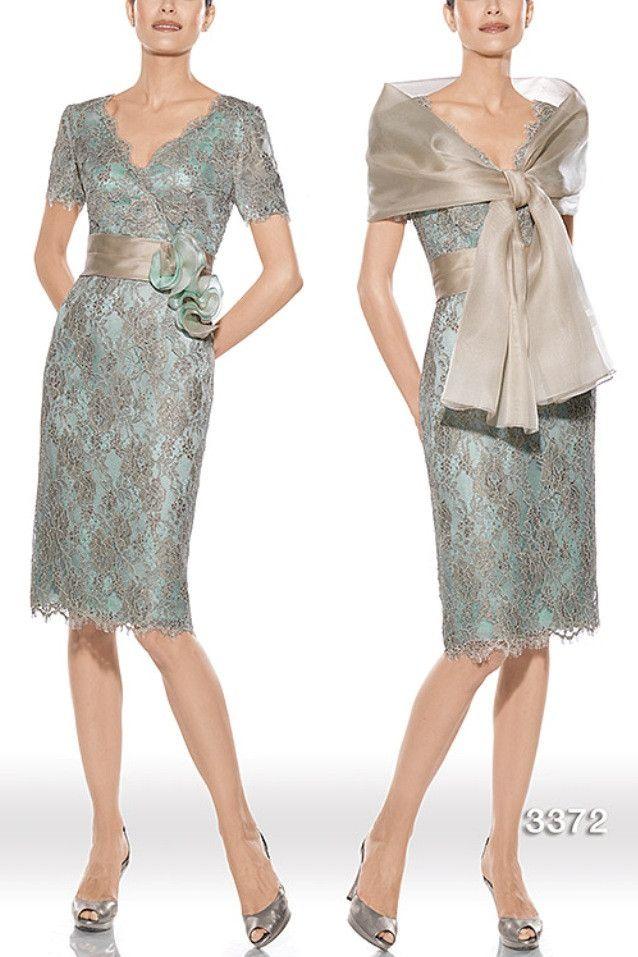 Vestido de madrina modelo 3372 by Teresa Ripoll   Boutique Clara. Tu tienda de vestidos de fiesta.