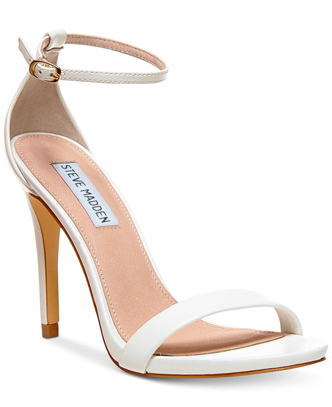 86f24ee515b Steve Madden Women s Stecy Two-Piece Sandals - Pumps - Shoes - Macy s