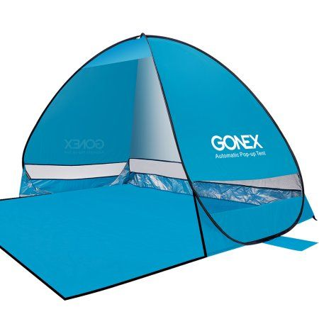 Gonex Lightweight Beach Shade Tent Sun Shelter Automatic Pop up Instant Portable Family Anti UV  sc 1 st  Pinterest & Gonex Lightweight Beach Shade Tent Sun Shelter Automatic Pop up ...