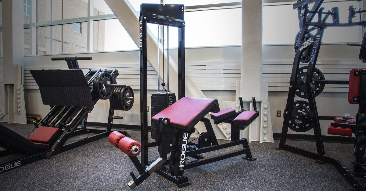 Rogue S Selectorized Hamstring Unit Is Designed To Help All Types Of Athletes Manufactured In The Leg Curl Machine Strength Training Equipment Lying Leg Curls