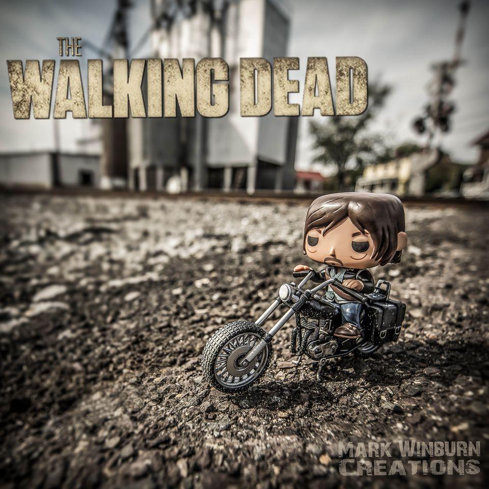 Funko Pop Toy The Walking Dead Twd Daryl Dixon Mark