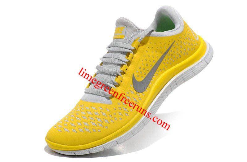 super popular 702f3 67aa9 Nike Free 2013 Run 3.0 V4 Charm Yellow Reflective Silver Pure Platinum Volt  511457 700