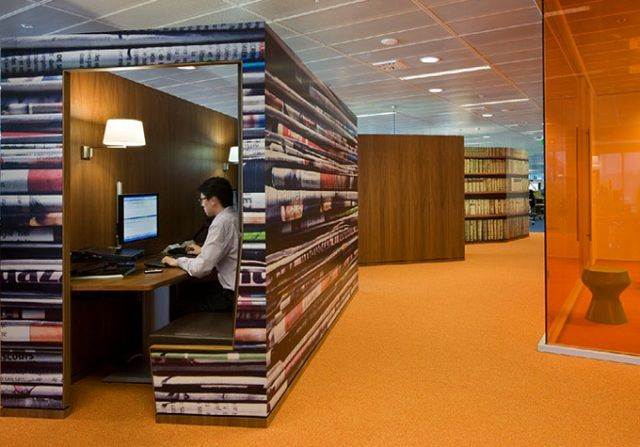 cool office buildings. Office : Cool Space In Large Room ~ HeimDecor Buildings