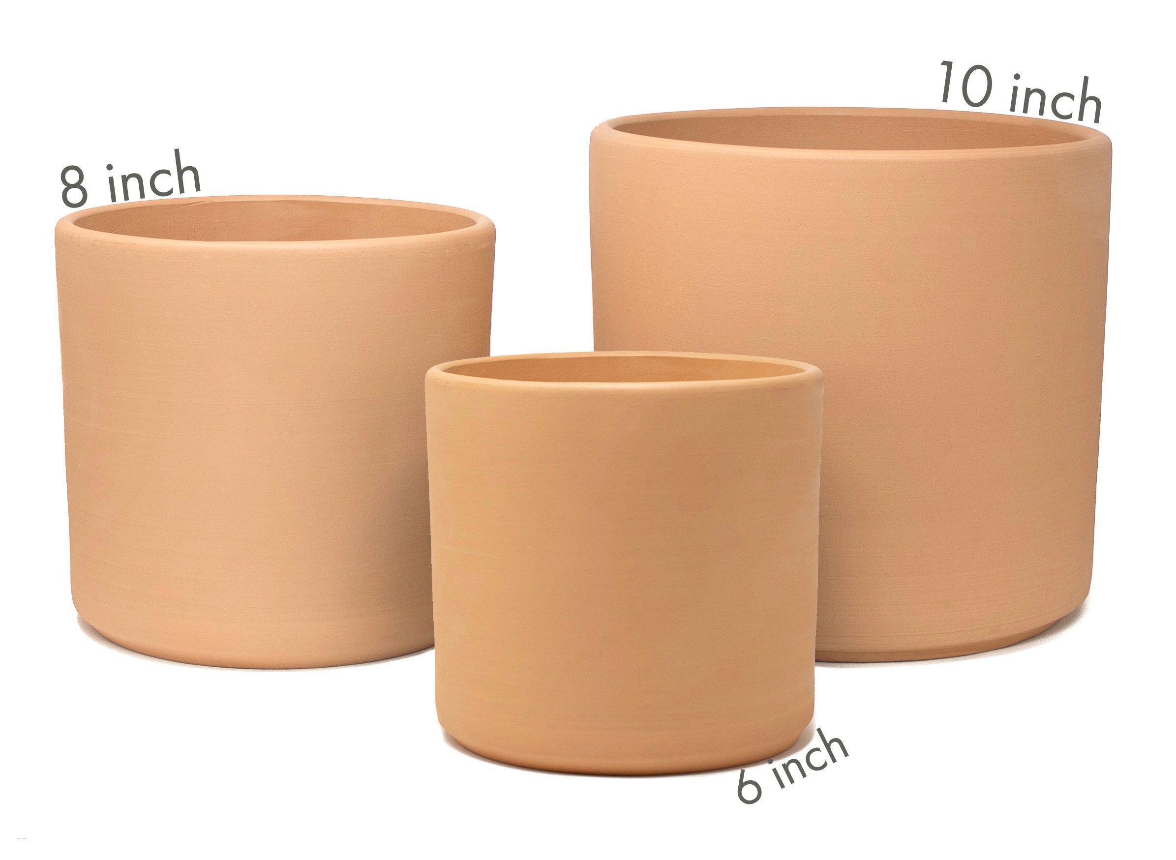 Pin By Ronnie Button On C E R A M I C S Styling Planters Planter Pots Indoor Contemporary Planters