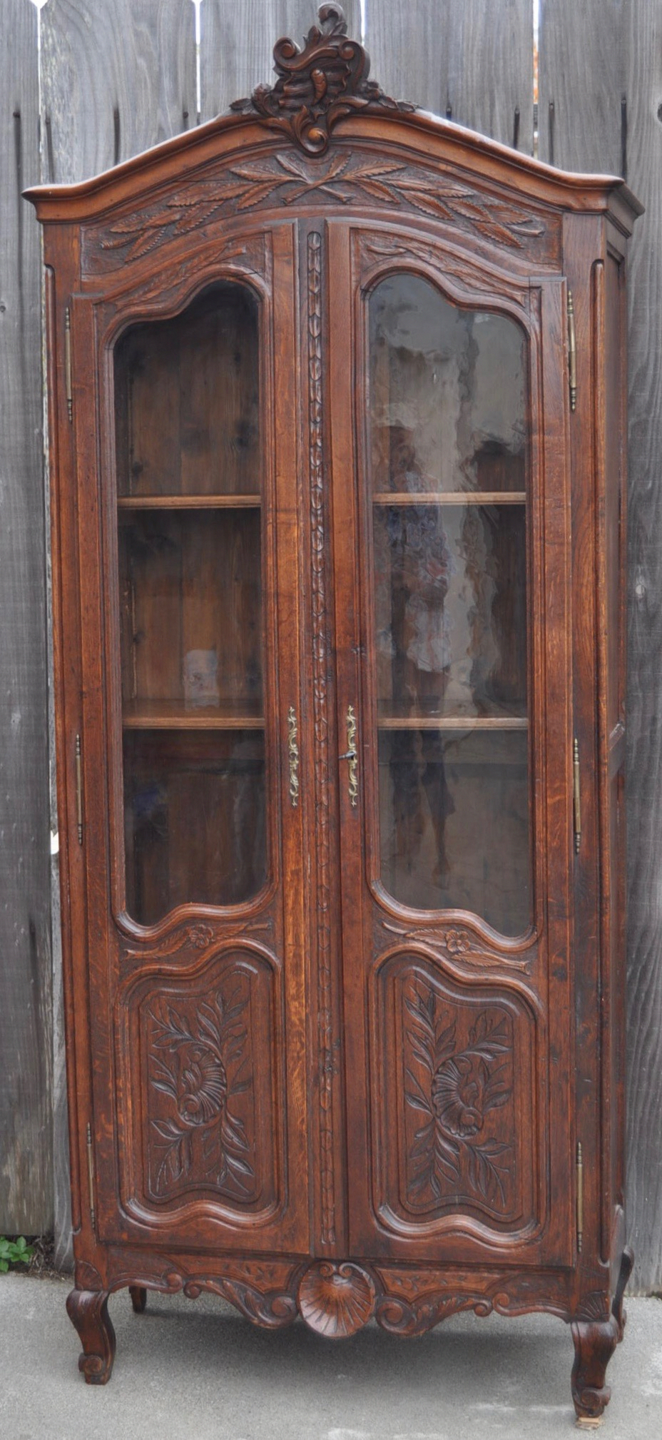 Antique Country French Armoire 1800's Chairish