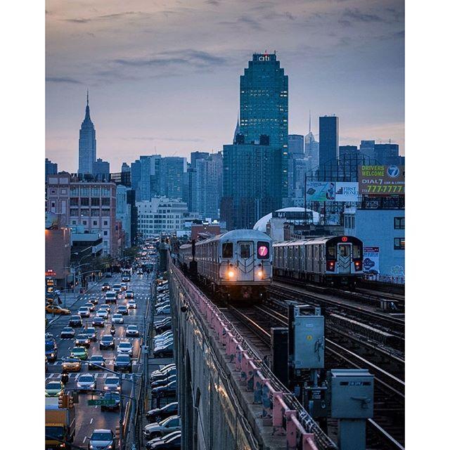40th Street–Lowery Street Station Sunnyside Queens NYC [