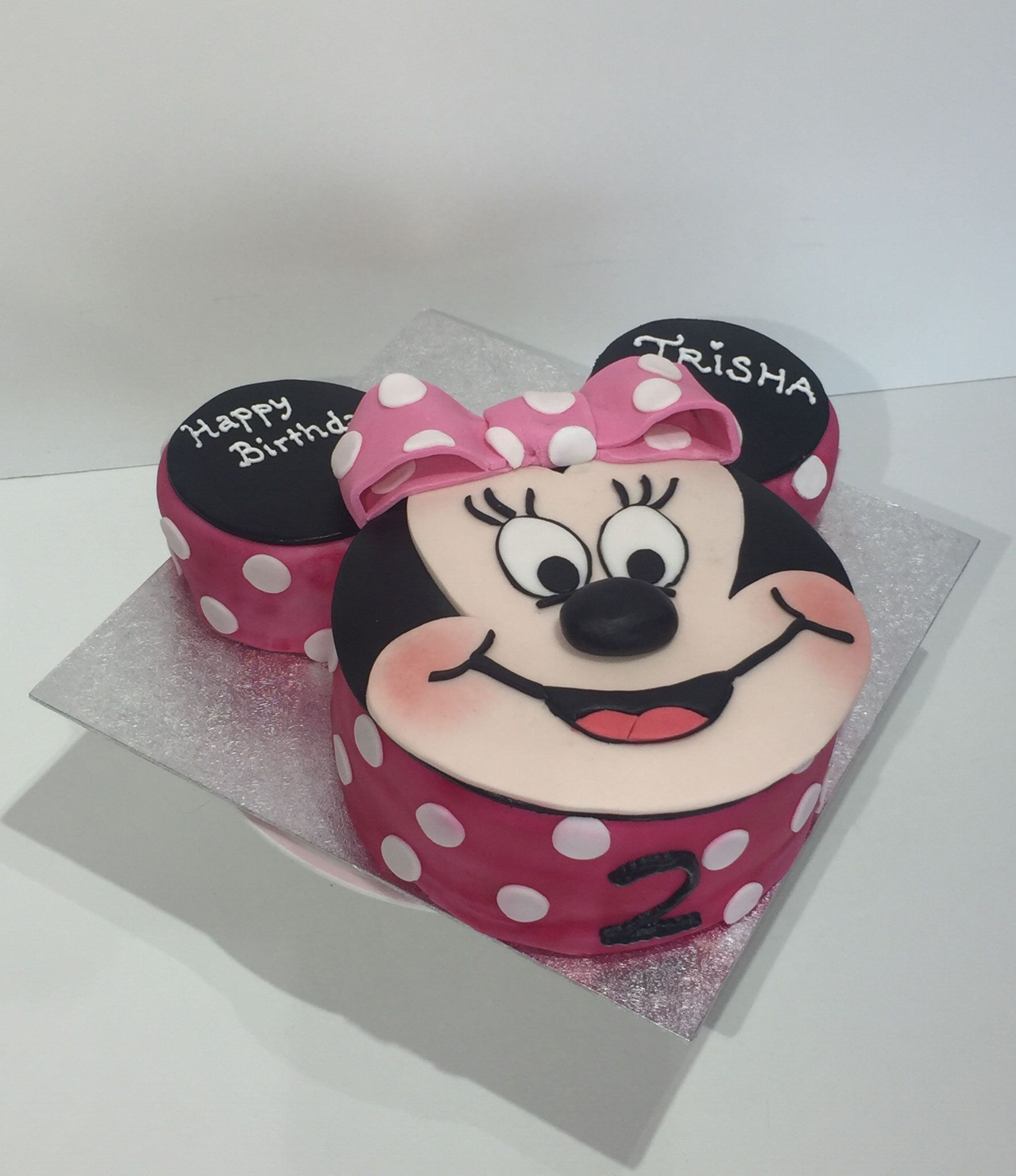 Minnie Mouse Cake Minnie Maus Torte Pink