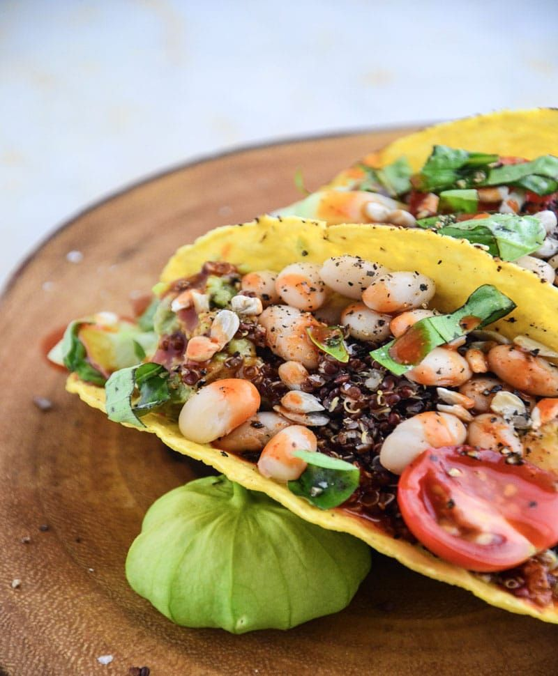 Easy White Bean Tacos