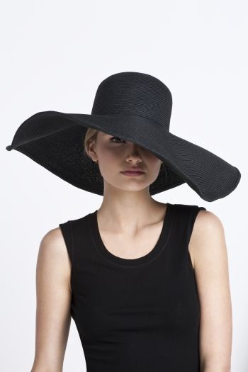 5dc2ab5d19ffe4 Black sun hat. Not usually my style but I just bought one for my summer  vacation. Need to start being a little more sun conscious and might as well  look ...