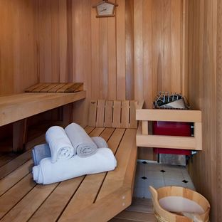 Sauna Design Ideas, Pictures, Remodel, and Decor - page 7