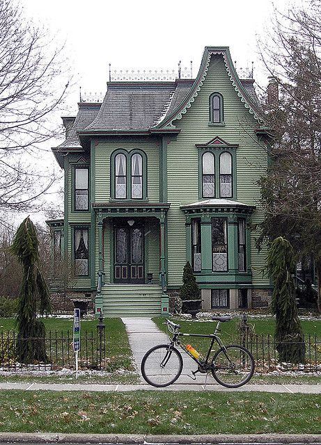 Victorian Houses Victorian Homes Gothic House House Styles