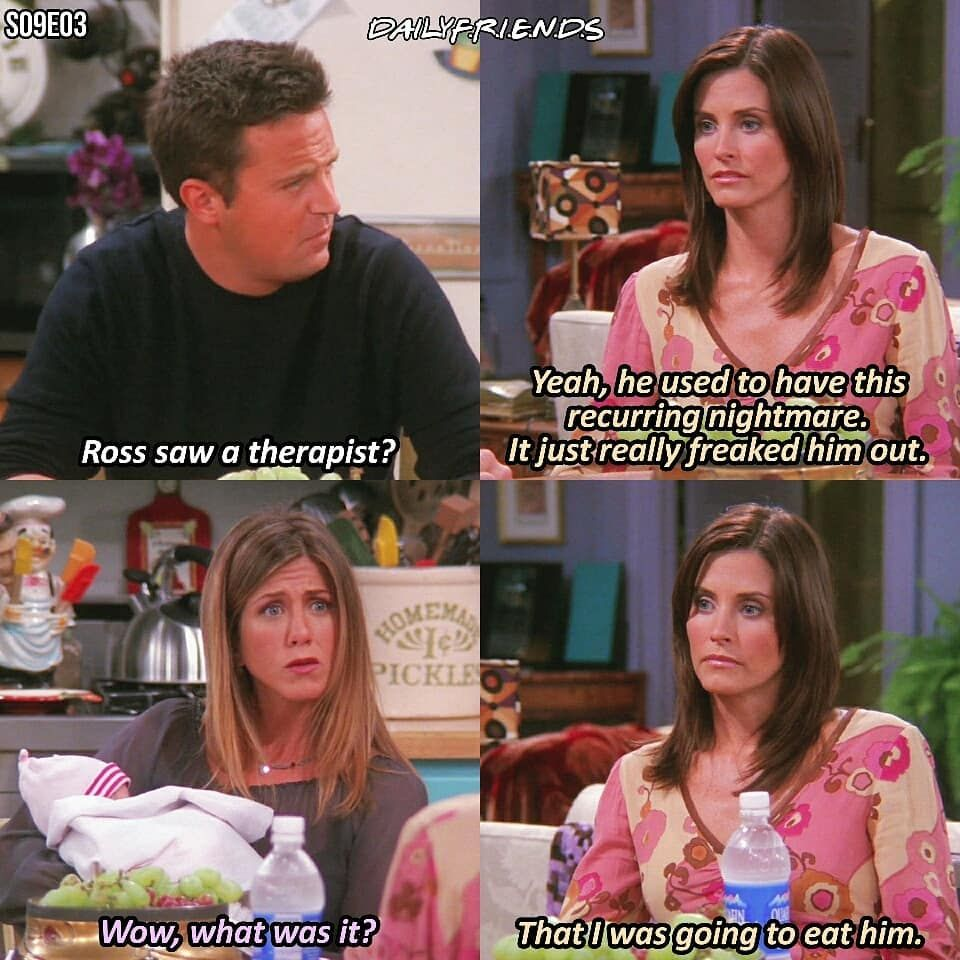 "F.R.I.E.N.D.S - TV SHOW on Instagram: ""q: Monica or Rachel? . . . . . . # friends #friendstv… 