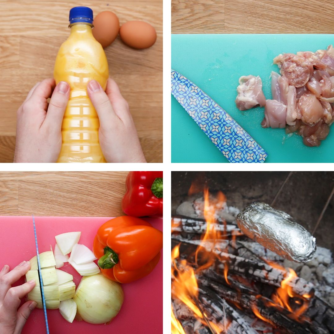 Camping Recipes And Cooking Tips: Camping Meal Prep Hacks