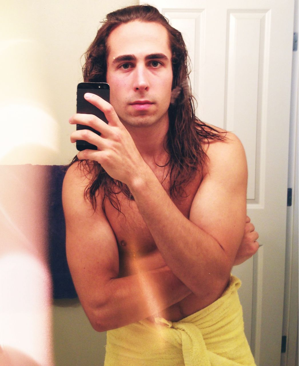 Long Hair After A Shower  Long Haired Men  Pinterest  Long haired