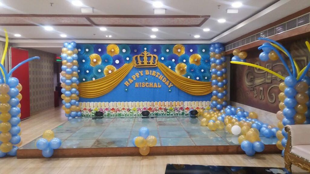 Birthday Party Planners In Hyderabad Birthday Decorations Kids Birthday Party Planner Prince Birthday Theme