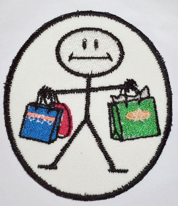 Iron-On Patch - SHOPPER