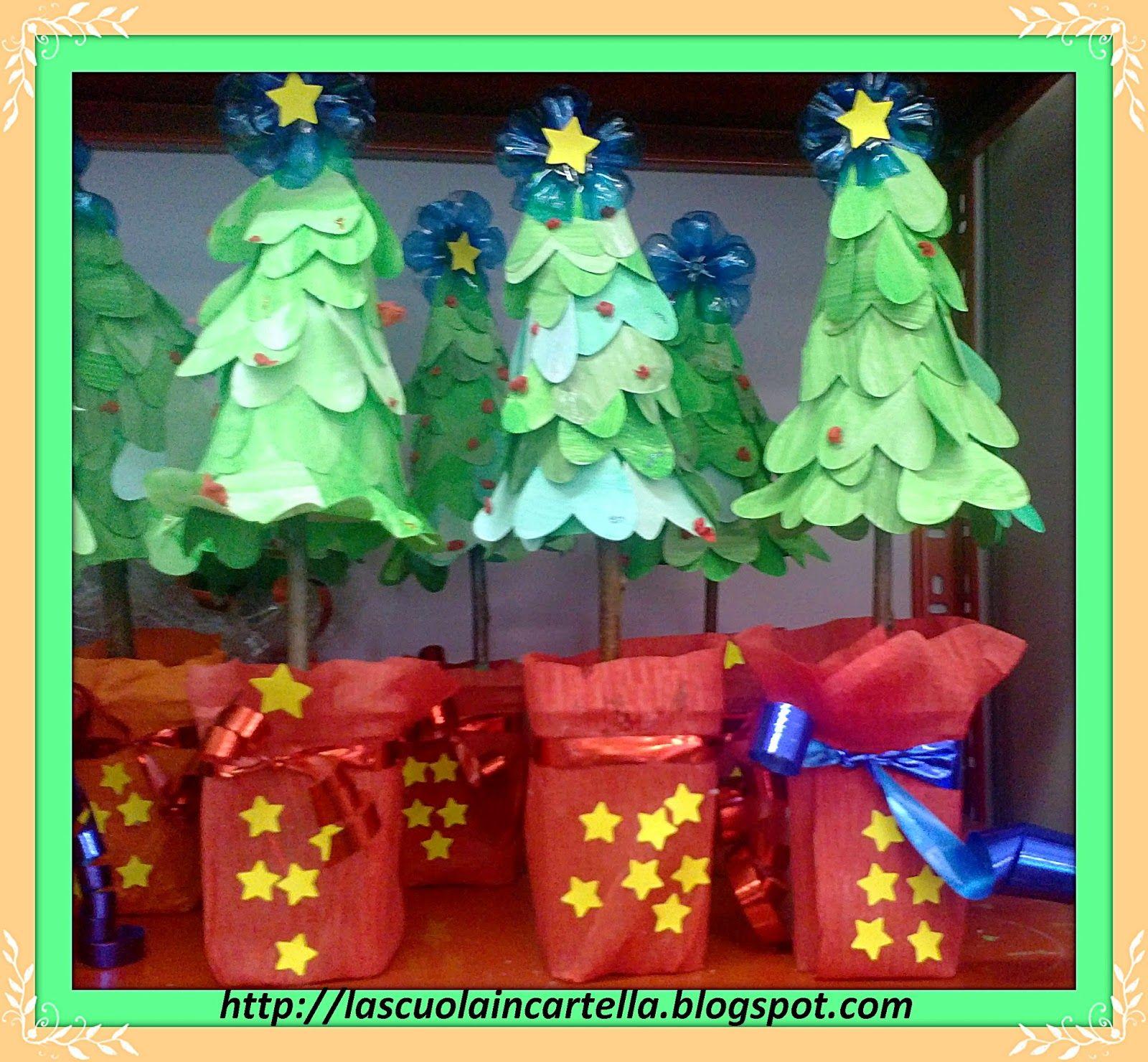 L'anno scorso per Natale con i miei allievi abbiamo ...