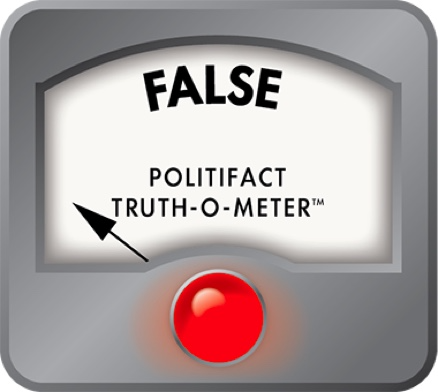 PolitiFact is a factchecking website that rates the