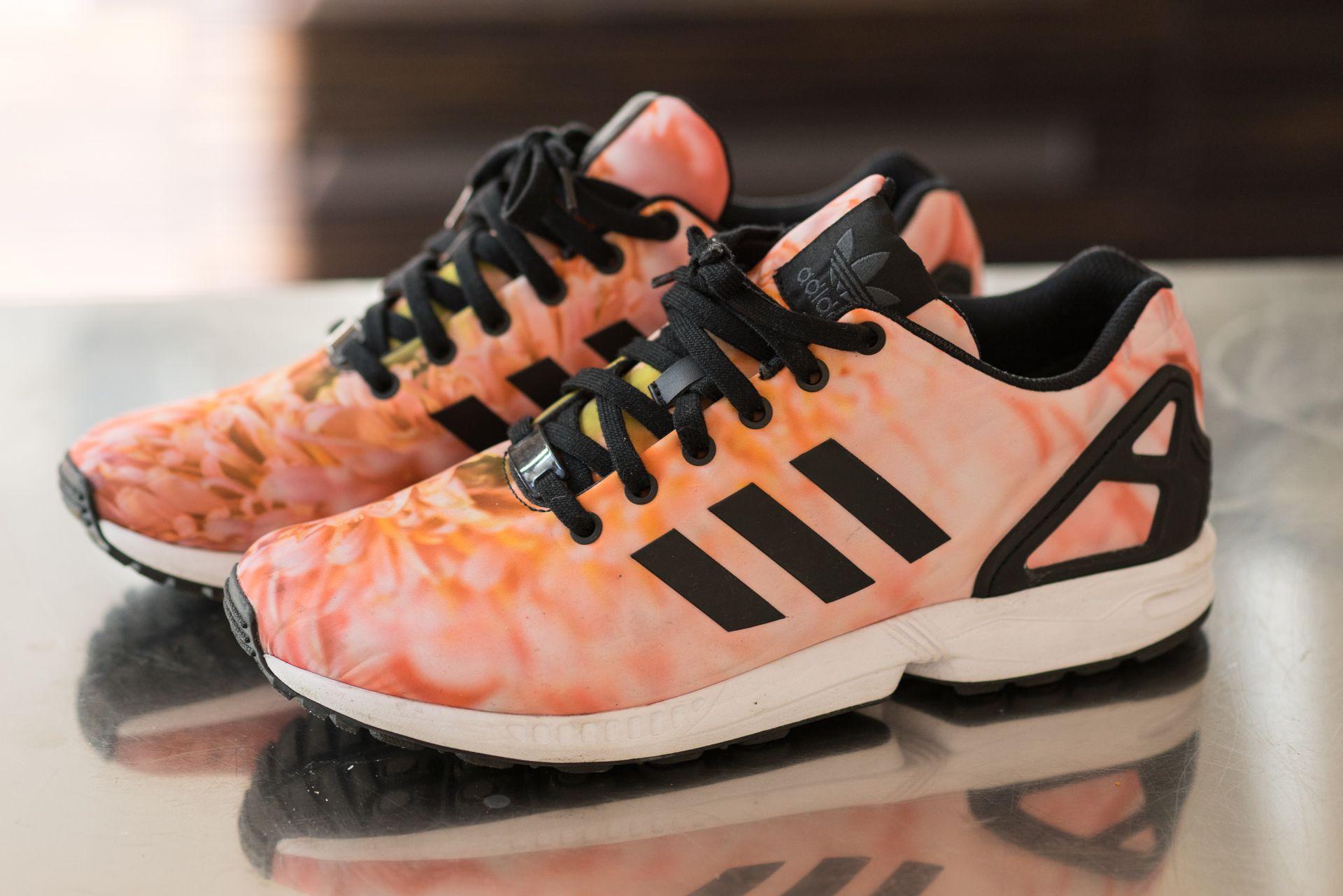 les adidas zx flux rose