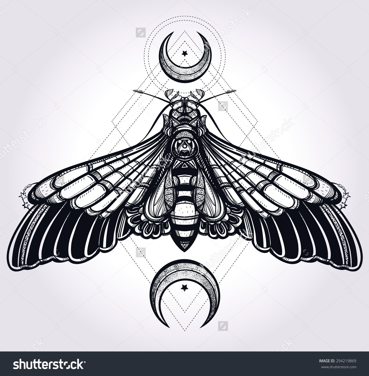 This is a graphic of Gorgeous Sacred Geometry Beetle Tattoo Drawing
