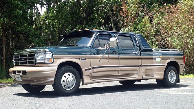 1996 Ford F350 Centaurus Pickup 7 3l Centaurus Conversion Mecum Auctions Model Truck Kits Ford Trucks Ford F350